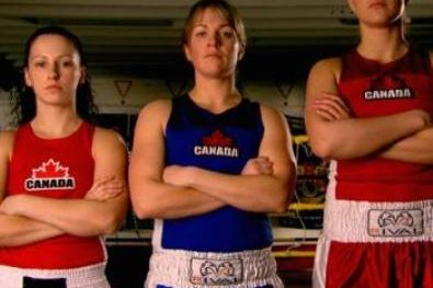 Trois boxeuses canadiennes pour les Olympiques